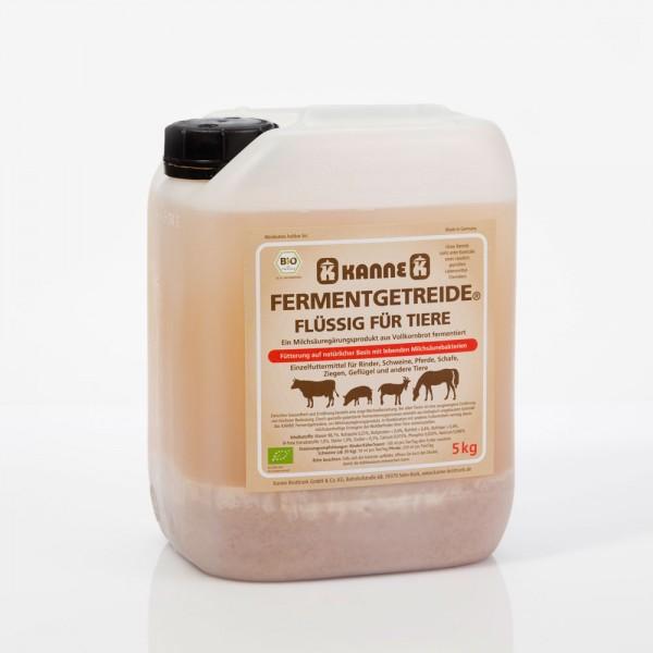 Kanne Bio Fermentgetreide® flüssig für Tiere 5 kg
