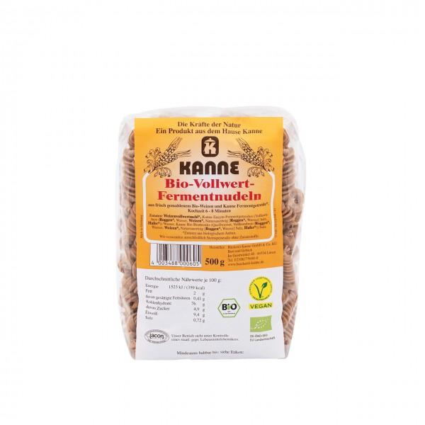 Kanne Bio-Vollwert-Fermentnudeln 500 g
