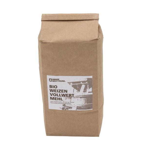 Bio Weizen Vollwertmehl 1 kg
