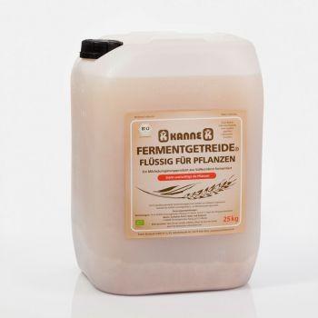 Kanne Bio Fermentgetreide® flüssig Boden/Pflanzen 25 kg