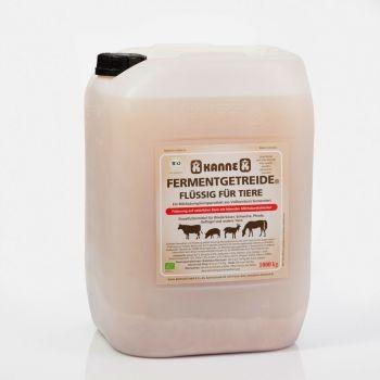 Kanne Bio Fermentgetreide® flüssig für Tiere 25 kg