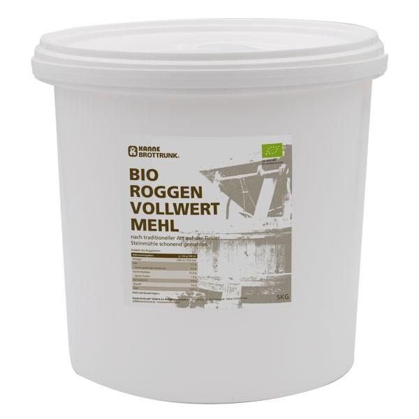 Bio Roggen Vollwertmehl 5 kg