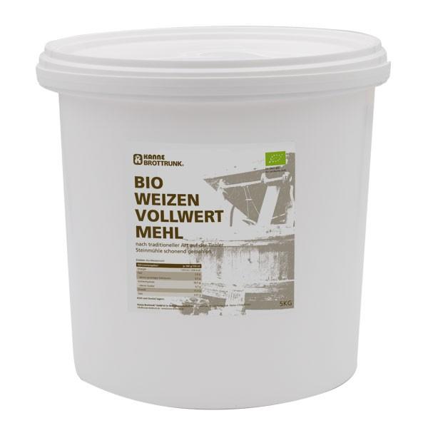 Bio Weizen Vollwertmehl 5 kg