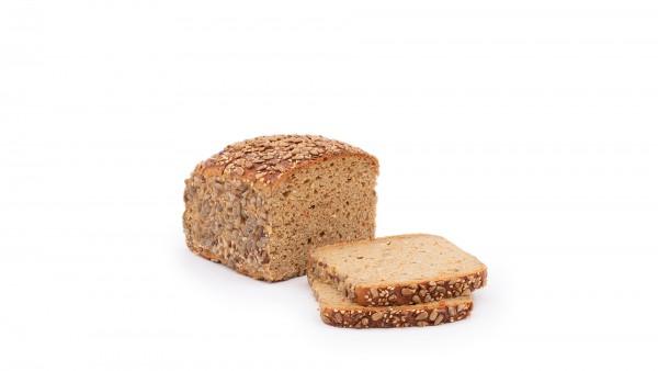 Wortel en meergranenbrood 750 gr