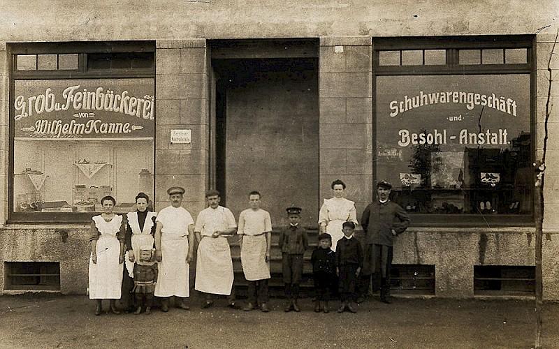 Die erste Kannefiliale in der Derner Strasse, in Lünen-Süd